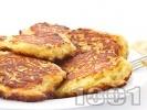 Рецепта Домашни картофени кюфтета с джоджен печени върху хартия във фурна (без пържене и без лук)
